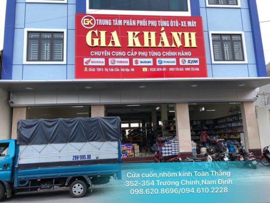 Bảng giá cửa cuốn Toàn Thắng Nam Định