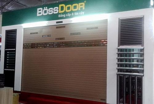 Lắp cửa cuốn tại Nam Định-Cửa cuốn Bossdoor Nam Định