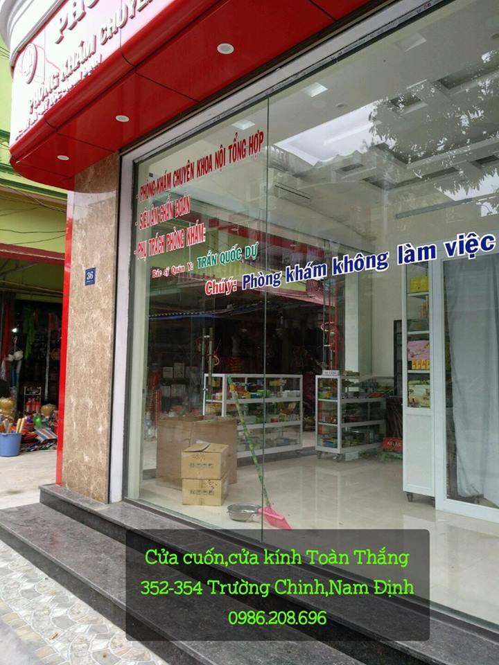 Cửa kính cường lực tại Nam Định giá rẻ, uy tín, chất lượng