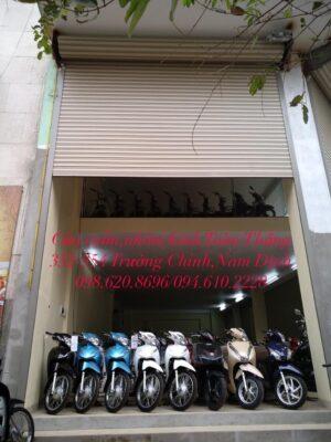 Lắp đặt cửa cuốn tại Vụ Bản-Nam Định, sản phẩm chính hãng giá rẻ