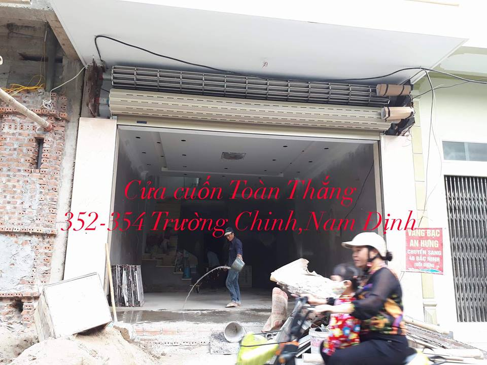 Cửa cuốn tại Trực Ninh Nam Định-chính hãng giá rẻ