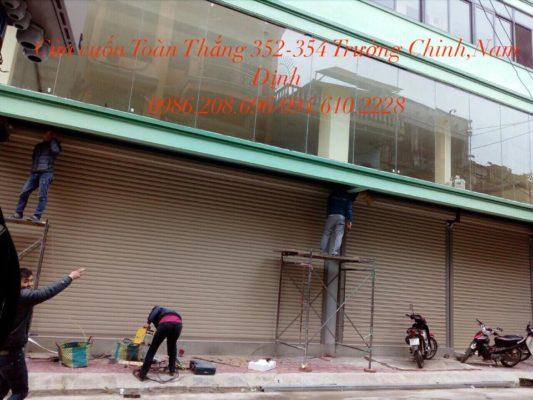 Lắp đặt cửa cuốn tại Hải Hậu Nam Định giá tốt