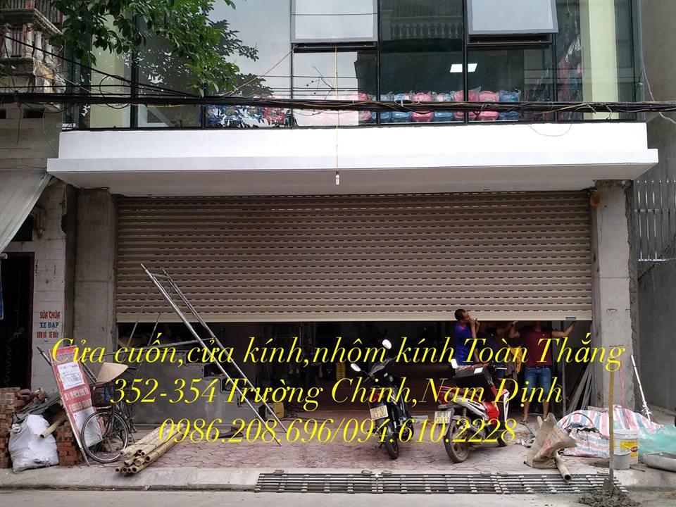 Cửa cuốn tại Nghĩa Hưng Nam Định chính hãng, giá rẻ, uy tín