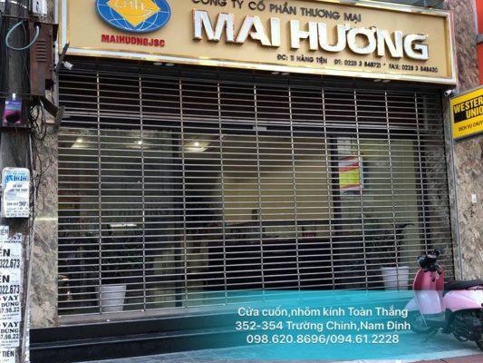 Cửa cuốn tại thành phố Nam Định giá rẻ, uy tín