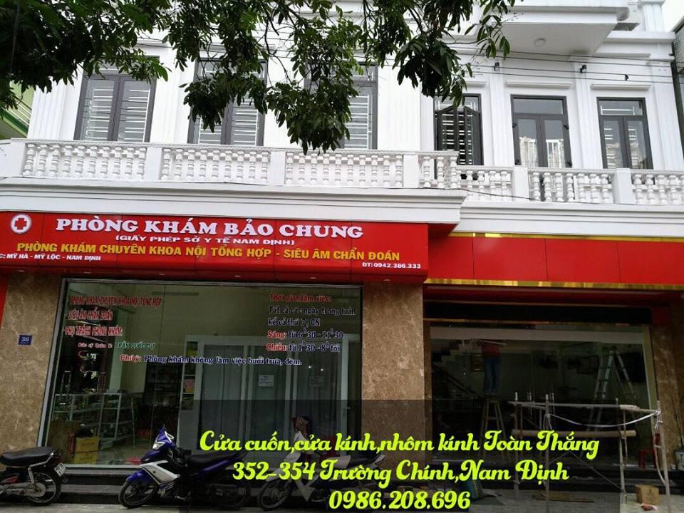 Cửa kính cường lực tại Nam Định giá rẻ uy tín chất lượng