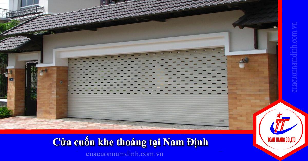 Cửa cuốn khe thoáng tại Nam Định giá rẻ